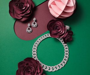 SKP studio Maud Vantours set design paper flower editorial Paris