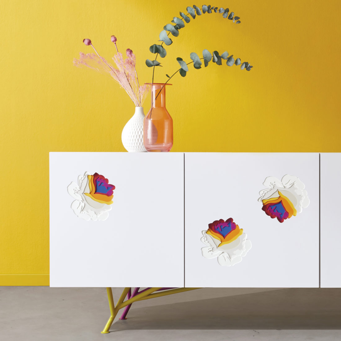 studio design Maud Vantours Hetch Formica meuble enfilade flowa product design Paris